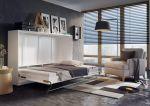 Výklopná postel 140 CONCEPT PRO CP-04 bílá