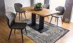 Jídelní stůl SAURON dub masiv 180x90 cm