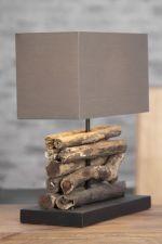 stolní lampa PERIFERE BROWN