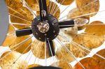 stropní svítidlo INFINITY GOLD-BLACK