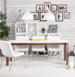 konferenční / odkládací stolek RECTO WHITE