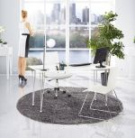 stolní lampa MOON WHITE