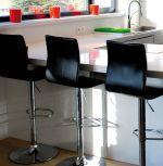 barová židle ITALIA BLACK