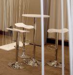 barová židle BLUR WHITE