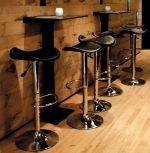 barová židle TRIO BLACK