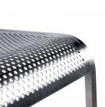 barová židle ROMA SILVER