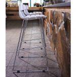 barová židle MIAMI WHITE