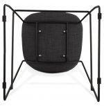 barová židle PAIRLA BLACK