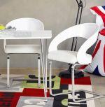 židle NUAKO WHITE
