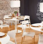 židle TUNIS WHITE