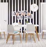 židle ABBRE WHITE