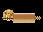 luxusní držák na kartáčky ANTIK GOLD s potahem 24 kt zlata