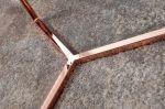 odkládací stolek ART DECO BRANCH COPPER