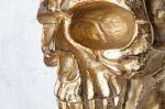 nástěnná dekorace SKULL GOLD 40-Z