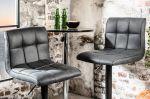 Barová židle MODENA VINTAGE GREY