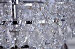 Stropní svítidlo ROYAL CRYSTALS 105 CM chrom