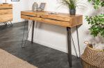 Konzolový stolek LIVING EDGE 120 CM masiv divoký dub
