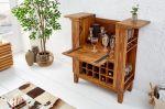Barový stůl MAKASSAR masiv sheesham
