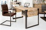 pracovní stůl FACTORY 135-CM pravá akáciová dýha