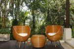 Luxusní zahradní SET ORIENT BROWN přírodní ratan