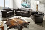 pohovka CHESTERFIELD 3M dark coffee