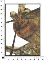 Nástěnná dekorace PLANE B 124 CM