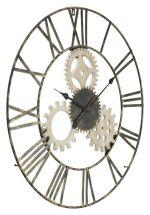Nástěnné hodiny GEAR 70 CM
