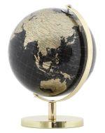 Stolní globus 20 CM zlatý
