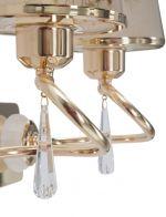 Nástěnné svítidlo DUO RING 27 CM