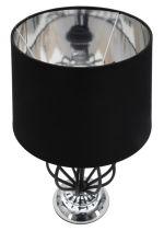 Stolní lampa DARKY SILVER 44 CM
