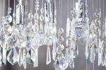 Stropní svítidlo CRYSTALS 9 chrom