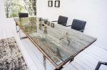 Skleněná deska pro jídelní stoly 180 CM