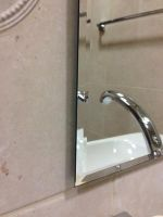 zrcadlo CRYSTAL 40/29-A s fazetou