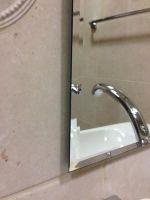 zrcadlo CRYSTAL 70/50-A s fazetou