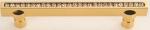 luxusní úchytka 160mm MIMOZA SILVER LESK, krystaly