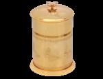 luxusní kartáč na toaletu PAPILLON GOLD II s potahem 24 kt zlata