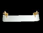 luxusní miska na mýdlo PAPILLON GOLD s potahem 24 kt zlata