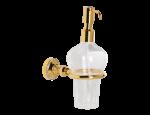 luxusní držák na ručník tyč ALMARA SILVER, krystaly