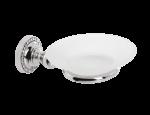 luxusní dávkovač mýdla ALMARA SILVER, krystaly