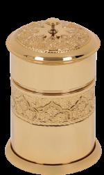luxusní dávkovač mýdla ROSE GOLD s potahem 24 kt zlata