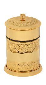 luxusní háček BLOSSOM GOLD s potahem 24 kt zlata