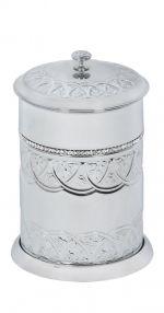 luxusní miska na mýdlo BLOSSOM SILVER