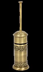 luxusní držák oblý BLOSSOM patinovaná mosaz