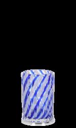 luxusní kelímek na kartáčky WAVE SILVER