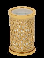 luxusní dávkovač mýdla CONCHIGLIA GOLD s potahem 24 kt zlata