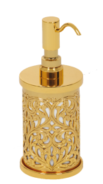 luxusní koš CONCHIGLIA GOLD s potahem 24 kt zlata
