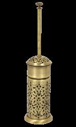 luxusní koš CONCHIGLIA patinovaná mosaz