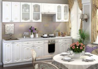 Kuchyně CHARLIZE 260 bílá se vzorem