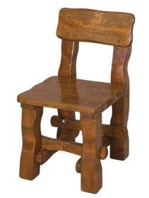 OM-100 zahradní židle brunat