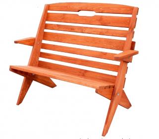 OM-107 zahradní lavice výběr barev